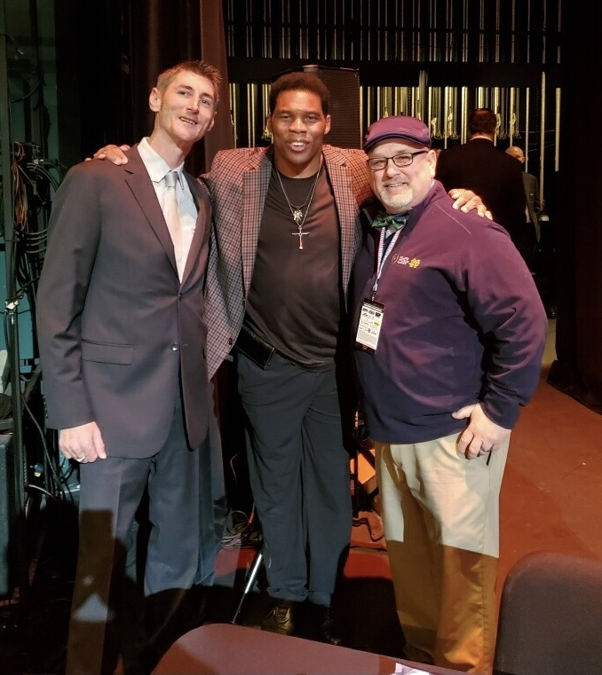 Irish Bill & Robbie w-Herschel Walker